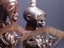 Songye-Tetela: Copper Little Hatchet.