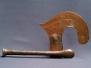 Songye: Hatchet With Copper Blade.